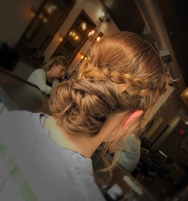 prom updo😍 #prom #love #updo #braid #fun #hair #beauty #beautiful #styling
