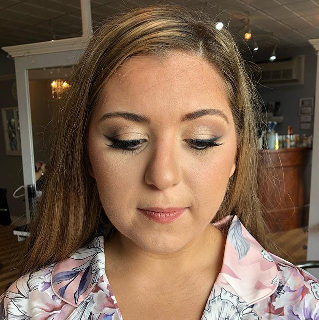 WEDDING DAY❤️ bridesmaid makeup #1 🤗 #makeup #wedding #love #fun #beauty #bridesmaid