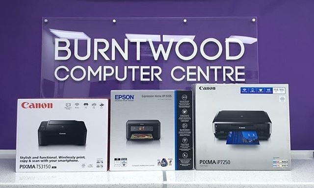 From cheaper, home-use printers all the way through to high-quality printers designed for photograph printing, we always make sure to stock the printer that's right for you. As well as this, we also offer the compatible ink alternatives for most HP, Epson, Canon, and Brother printers!  Pop in-store or give us a call on 01543 624500 to see if we have what you need! —————————— #printer #epson #canon #computer #shop #centre #computershop #computercentre