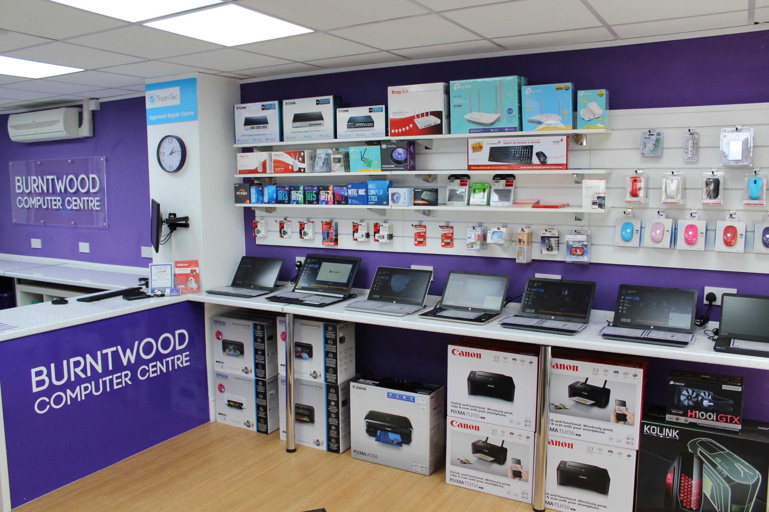 Rugeley Computer Shop
