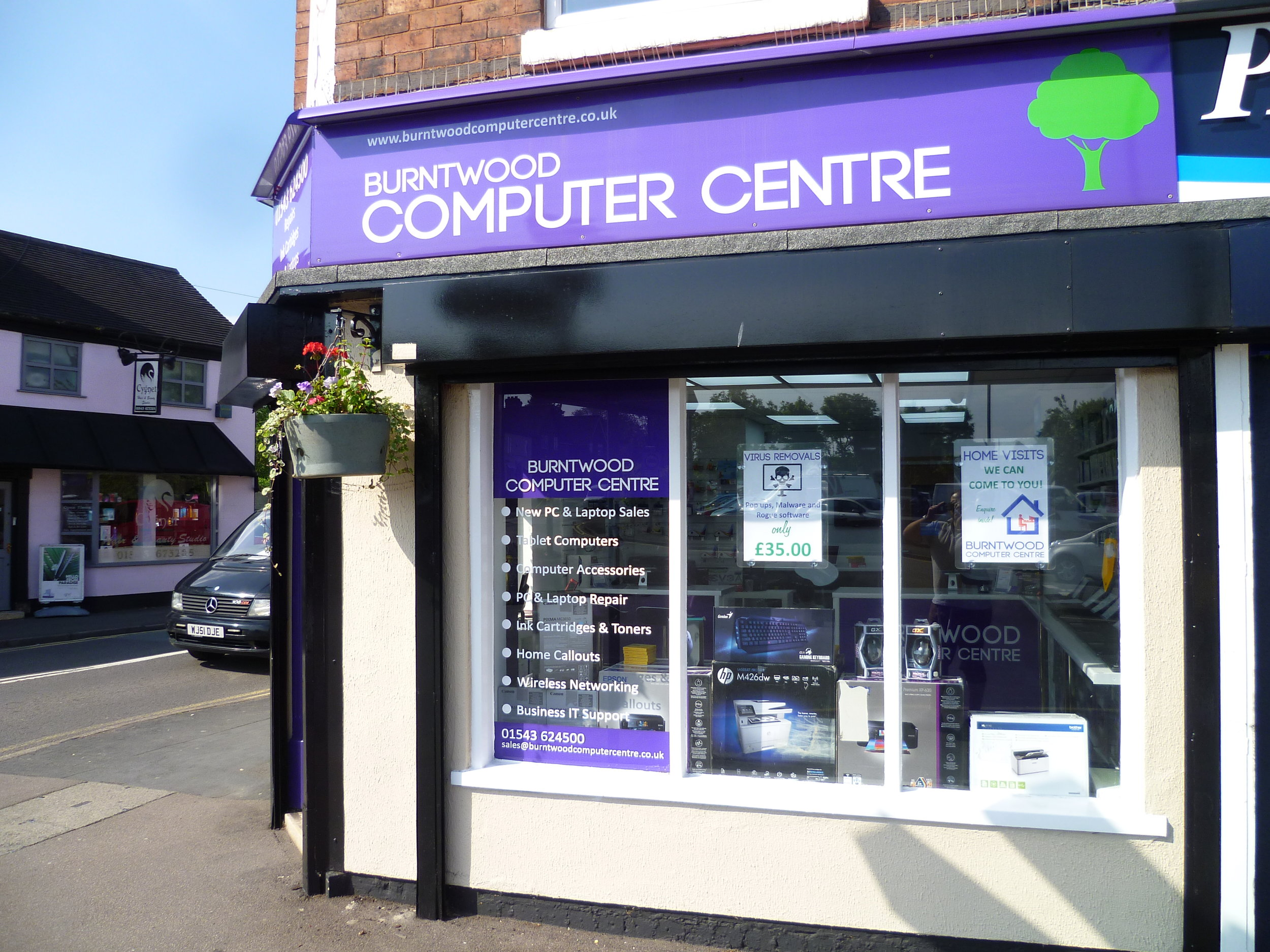 Computer Centre for Staffordshire