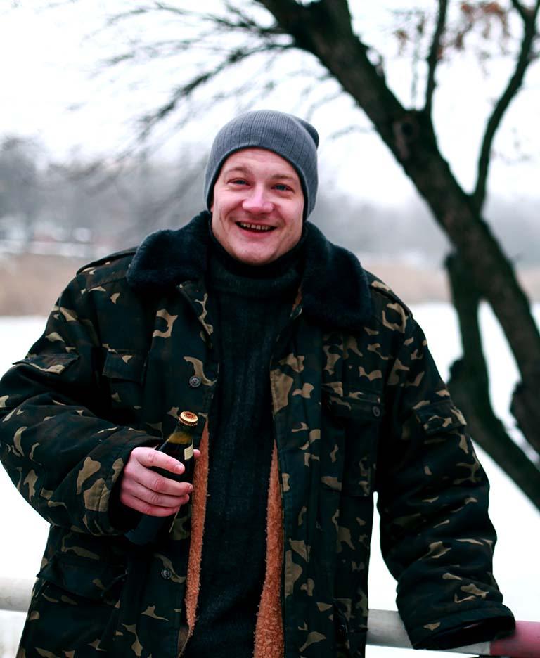 Pavlo Levitskiy - Drunk Man