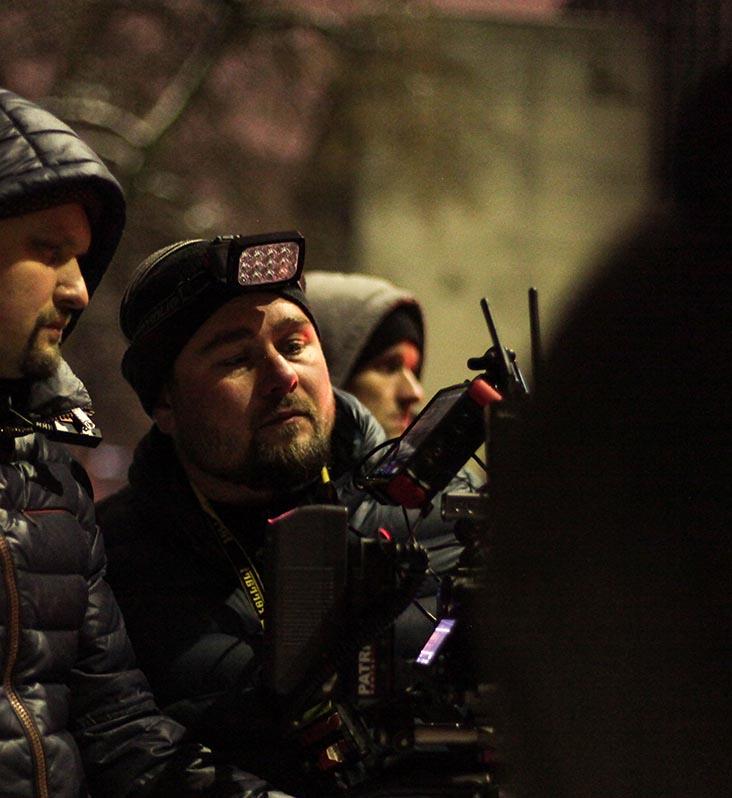 Alexandr Pakholok - 1st Assistant Camera