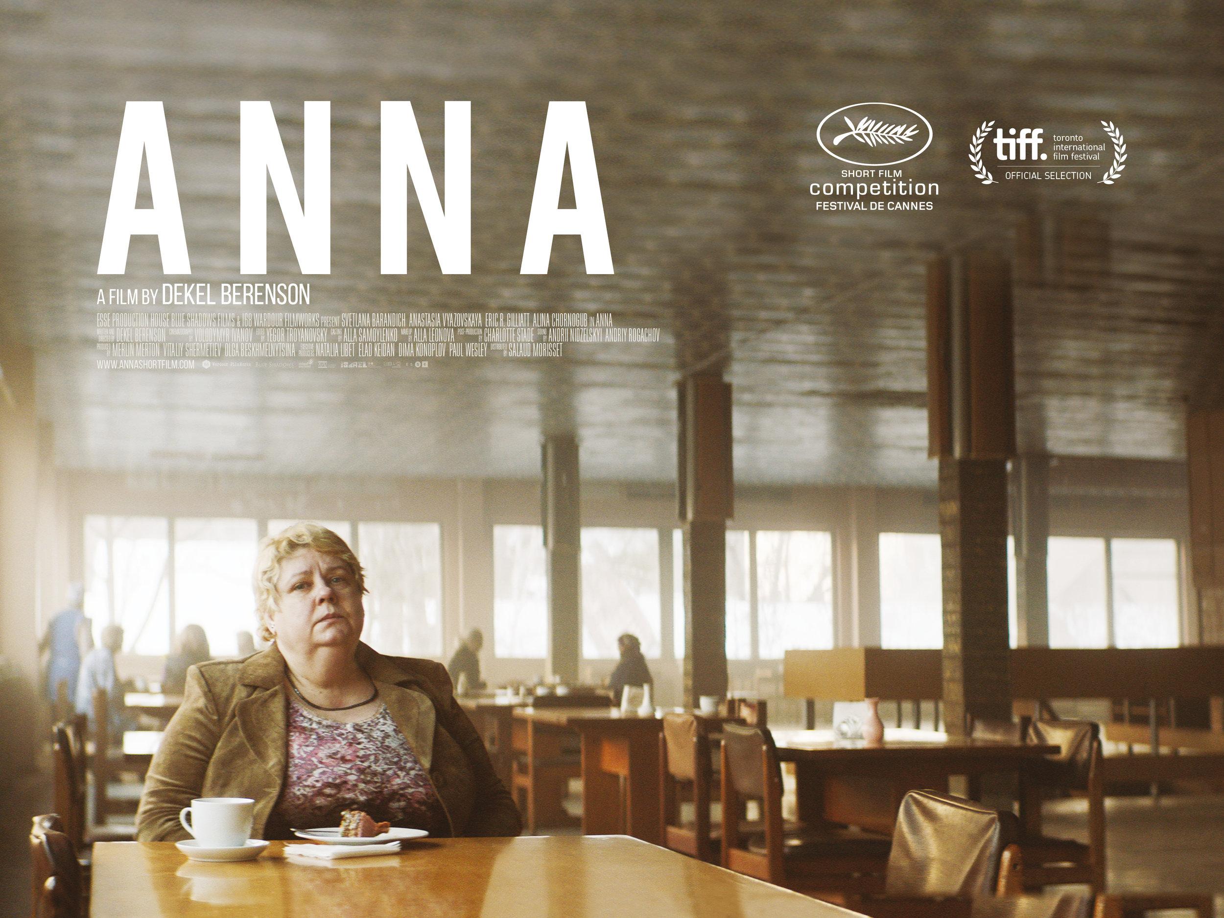 Anna Short Film Dir. Dekel Berenson Poster 2