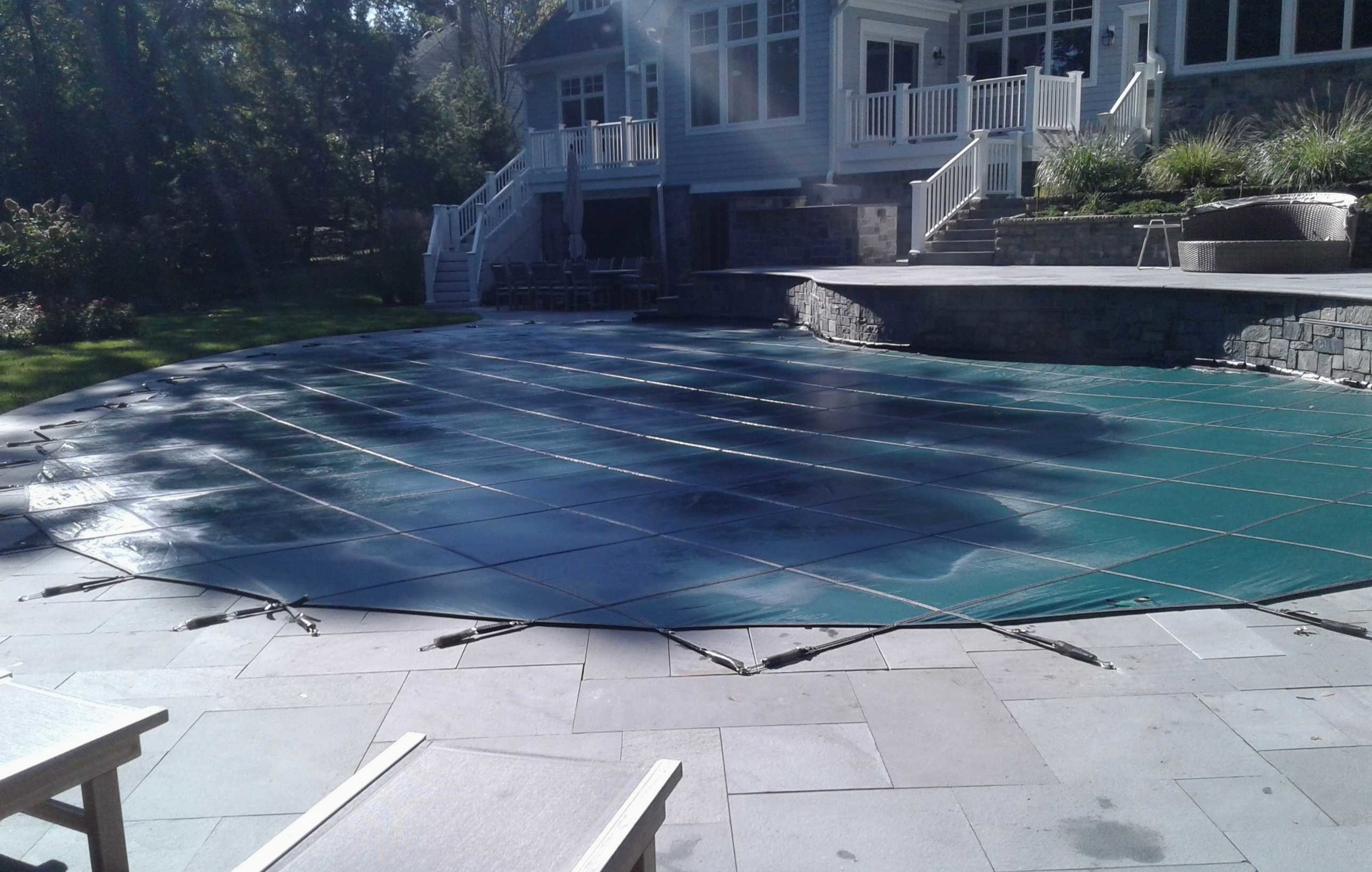 COVER REPLACEMENT - Northstar Pool Co. offers new cover measuring, installation and existing cover repairs. Contact us today, were happy to answer your questions!