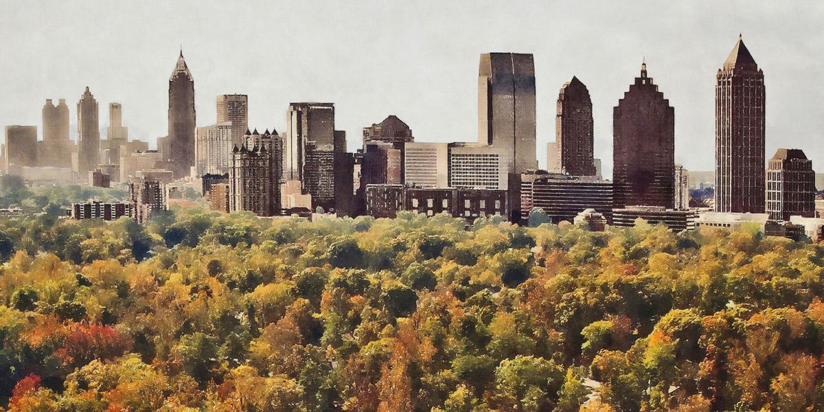 Atlanta From Above  | Atlanta, GA