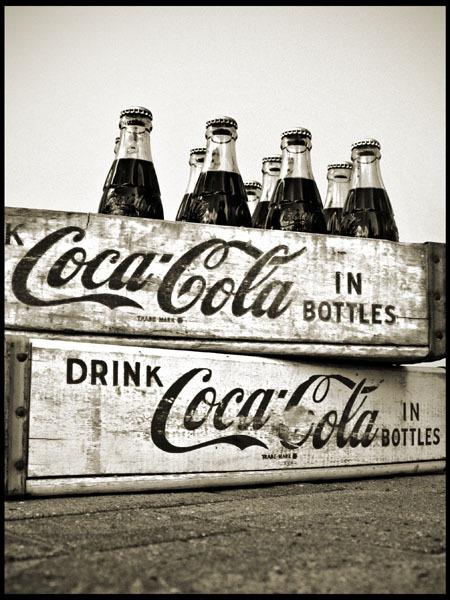 Coca-Cola In Bottles