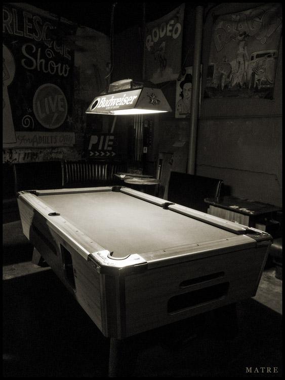 Billiards | The Continental Club | Austin, TX
