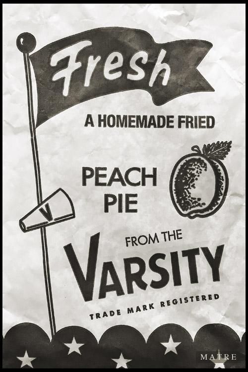 Fresh peach Pie | The Varsity | Atlanta, GA