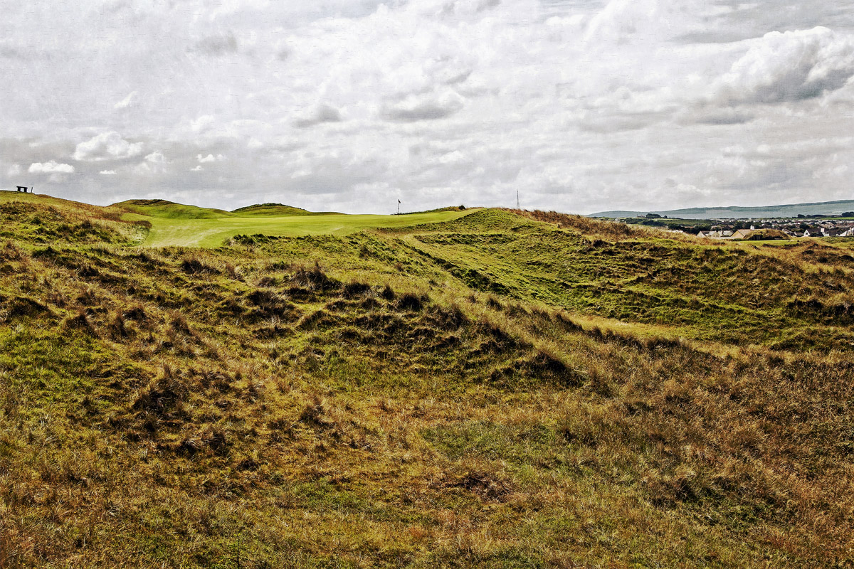 Calamity Corner | The Sixteenth | Royal Portrush GC | Portrush, Northern ireland