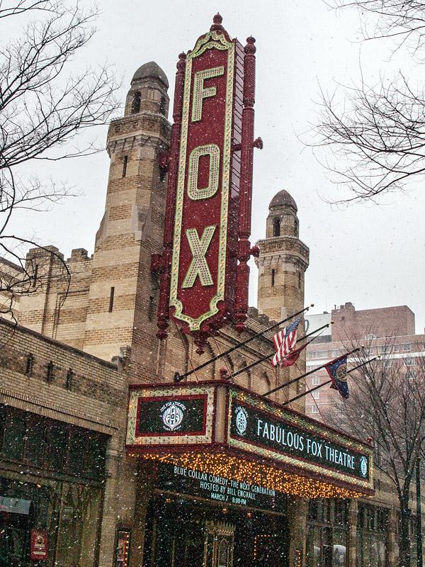 The Fox Theatre No. 1 Atlanta, GA  archival pigment print 40 x 30 inches