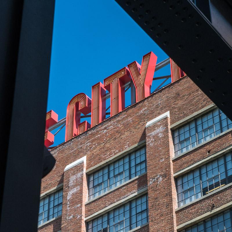 Ponce City Market Atlanta, GA  archival pigment print 30 x 30 inches