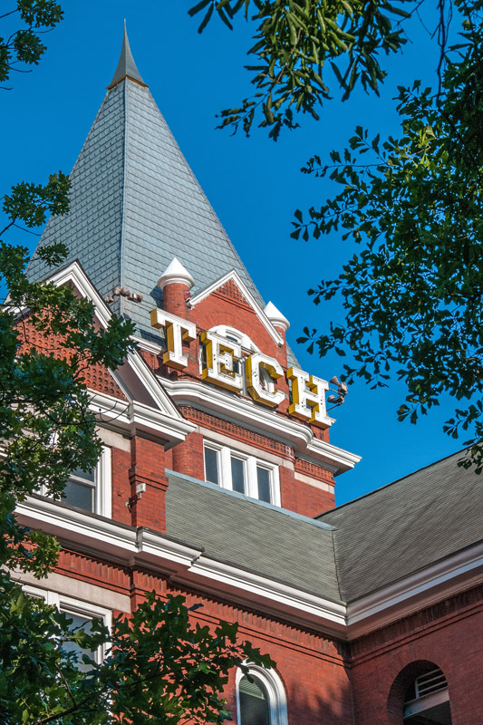 Tech Tower Atlanta, GA  archival pigment print 45 x 30 inches