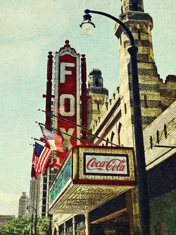 The Fox Theatre No. 2 Atlanta, GA  archival pigment print 40 x 30 inches
