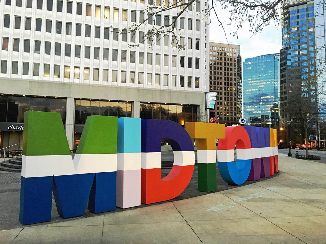 Midtown Atlanta, GA  archival pigment print 30 x 40 inches
