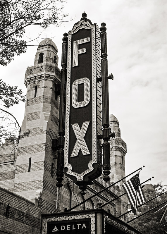 The Fox Theatre Atlanta, GA  17x12 | 28x20 | 42x30 custom sizes available