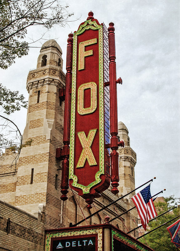 The Fox Theatre Atlanta, GA 12x17 | 24x33 | 36x50 custom sizes available