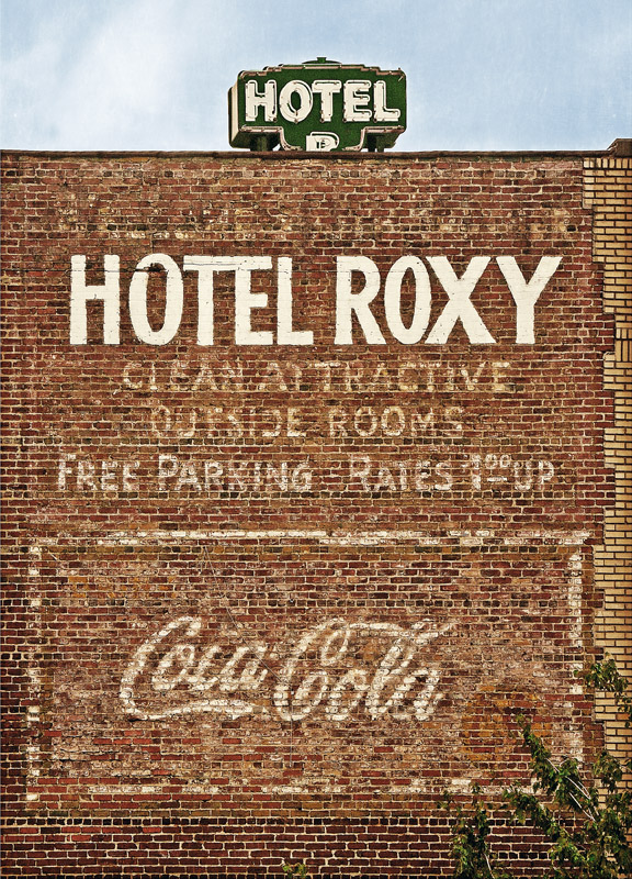 Hotel Roxy Atlanta, GA 12x17 | 24x33 | 36x50 custom sizes available