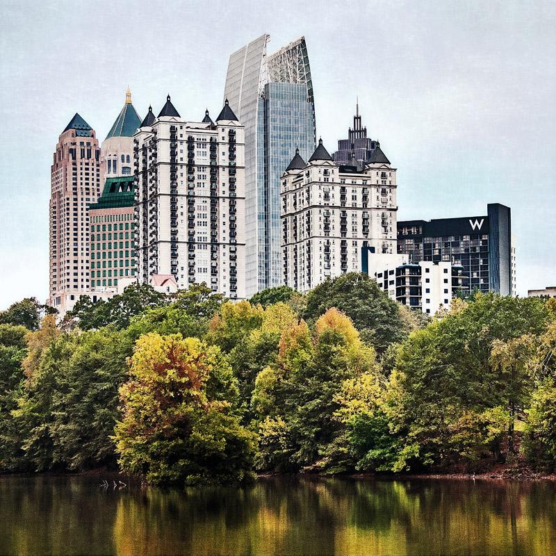 Midtown  Atlanta, GA 12x12 | 24x24 | 36x36 custom sizes available