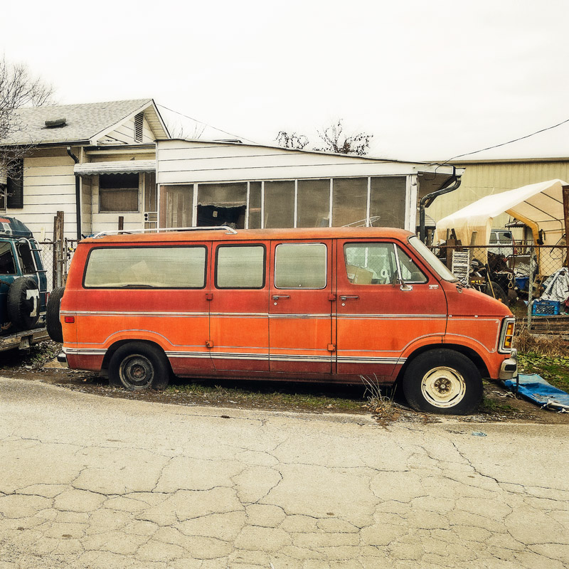Two-Toned In Tennessee  December 26, 2018 12x12 | 24x34 | 36x36 custom sizes available #suspiciousvans