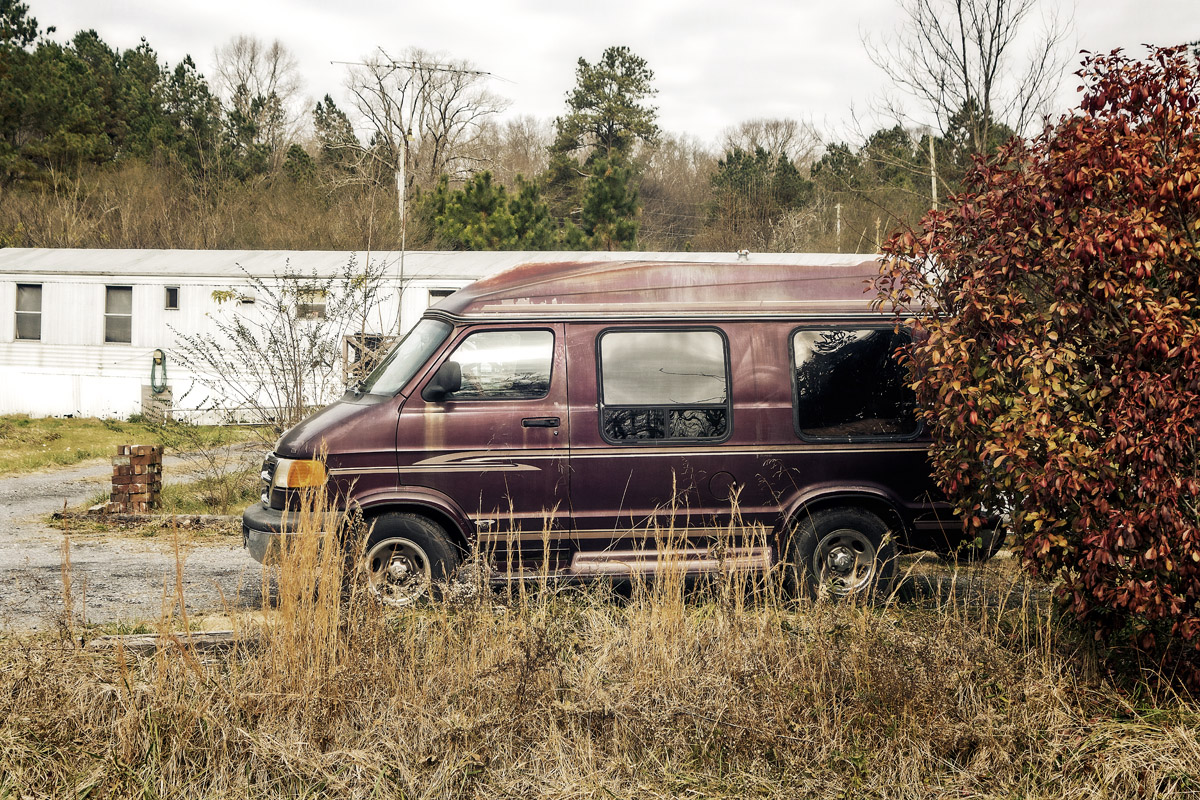 Marooned In Whitfield County  December 26, 2018 12x18 | 24x36 | 36x54 custom sizes available #suspiciousvans