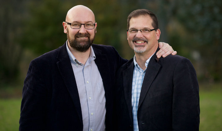 Co-Founders Gabriel Smith (Left) and Rodney Duttweiler (Right)