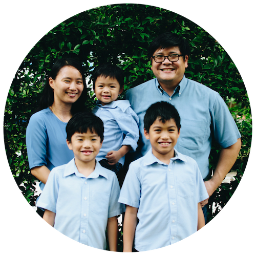 The Bunuparadah Family, Partners   Originally from Thailand, Rawee and Nui spent 8 years in New York City before returning to Bangkok in 2011. They have three boys - Mat, Mitchell and Manas. Rawee is the pastor of Grace Community Church, one of East Mountain's partner churches on the Northern side of Bangkok.