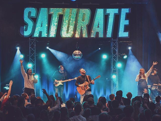 Powerful times this weekend at #saturate18 ! Love what the Lord is doing in the teens of the Northeast!! Special thanks to Mark & the @saturateef team for having us 🙌🏻🔥
