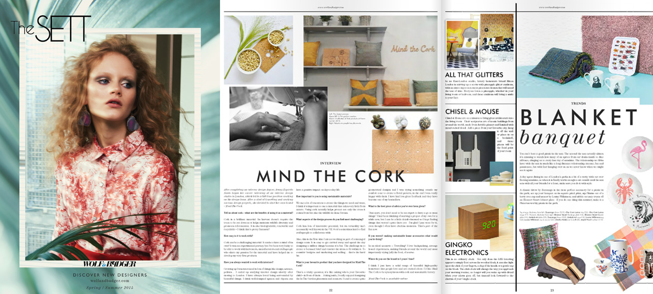 mind the cork in The Sett - Spring/Summer 2015