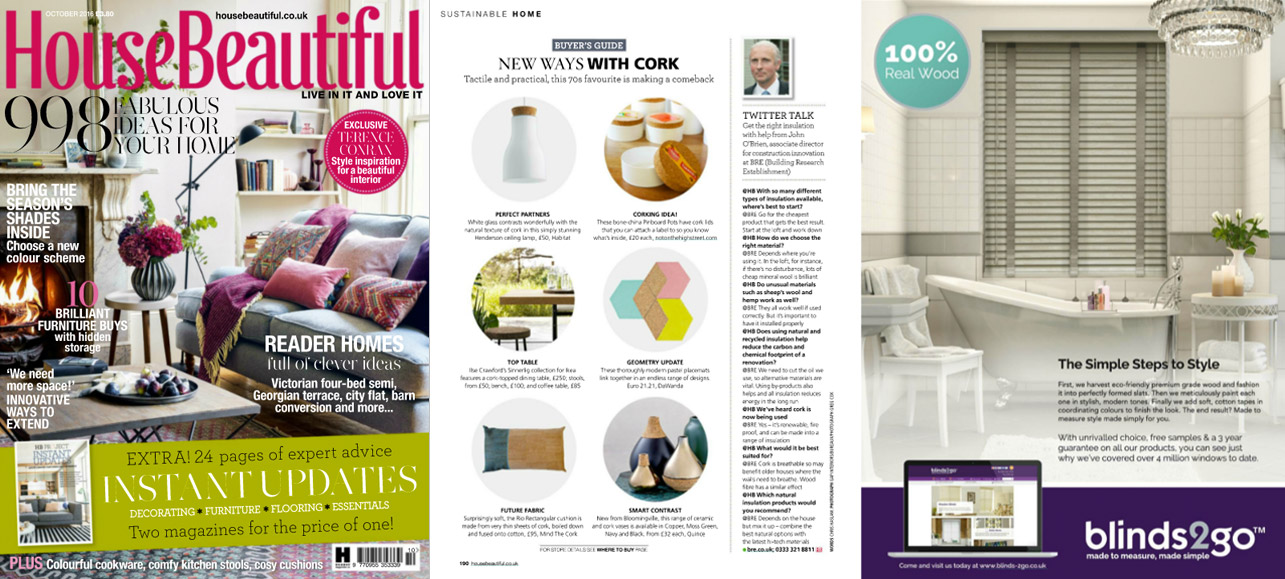 mind the cork in House Beautiful - October 2016