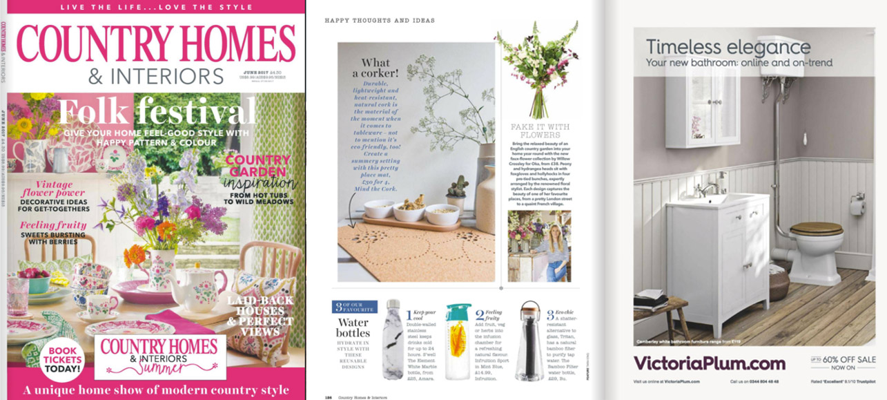 mind the cork in Homes& Gardens - June 2017