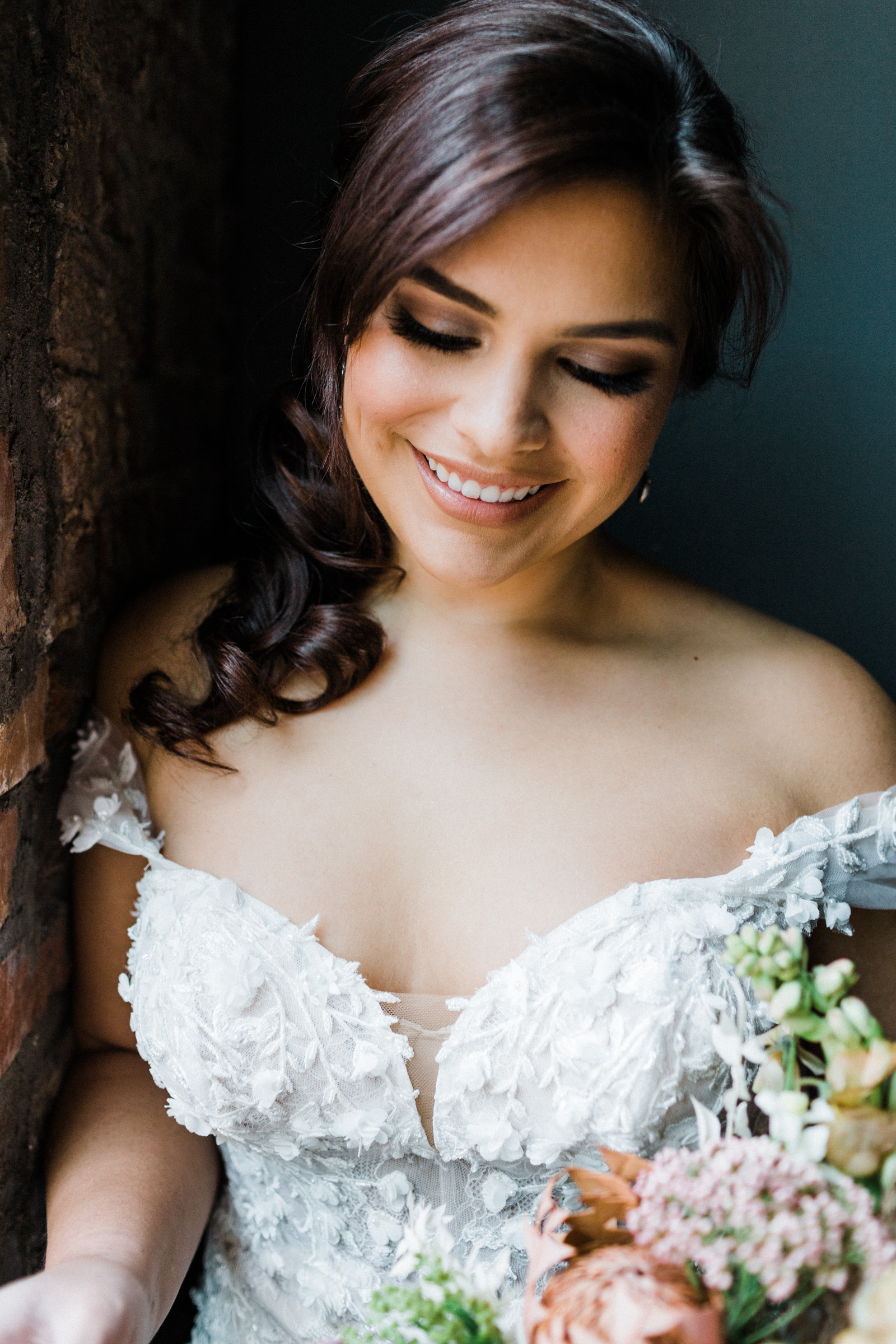 Bridal portrait at the century hall