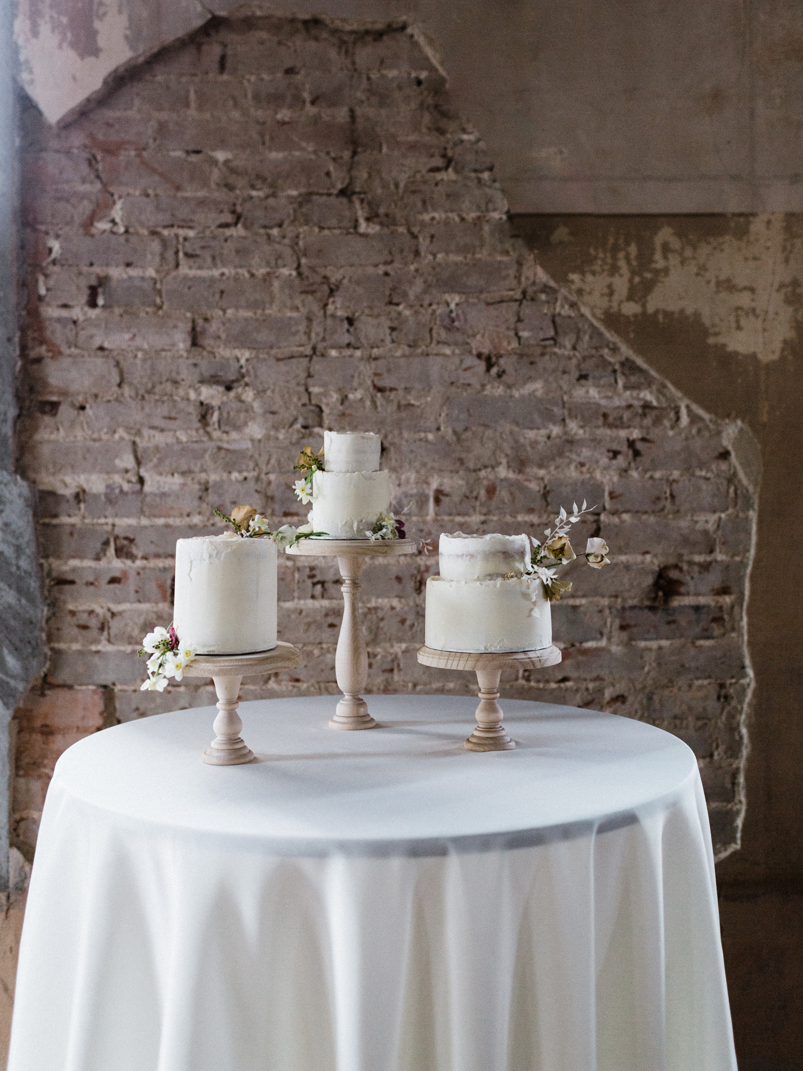 Wedding cakes by Manda Mobley Cake studio at the century hall