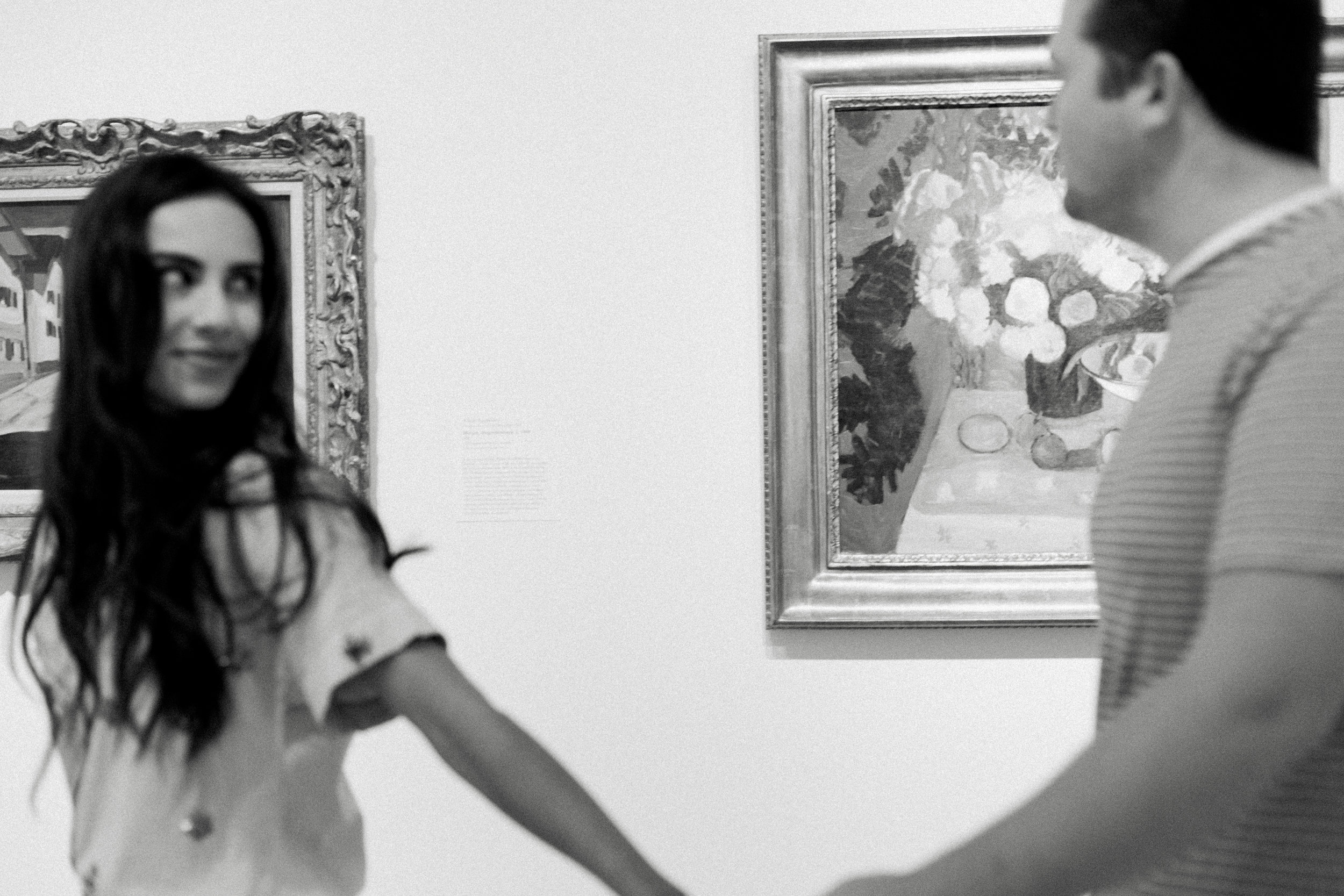 Art Gallery Engagement  Pictures