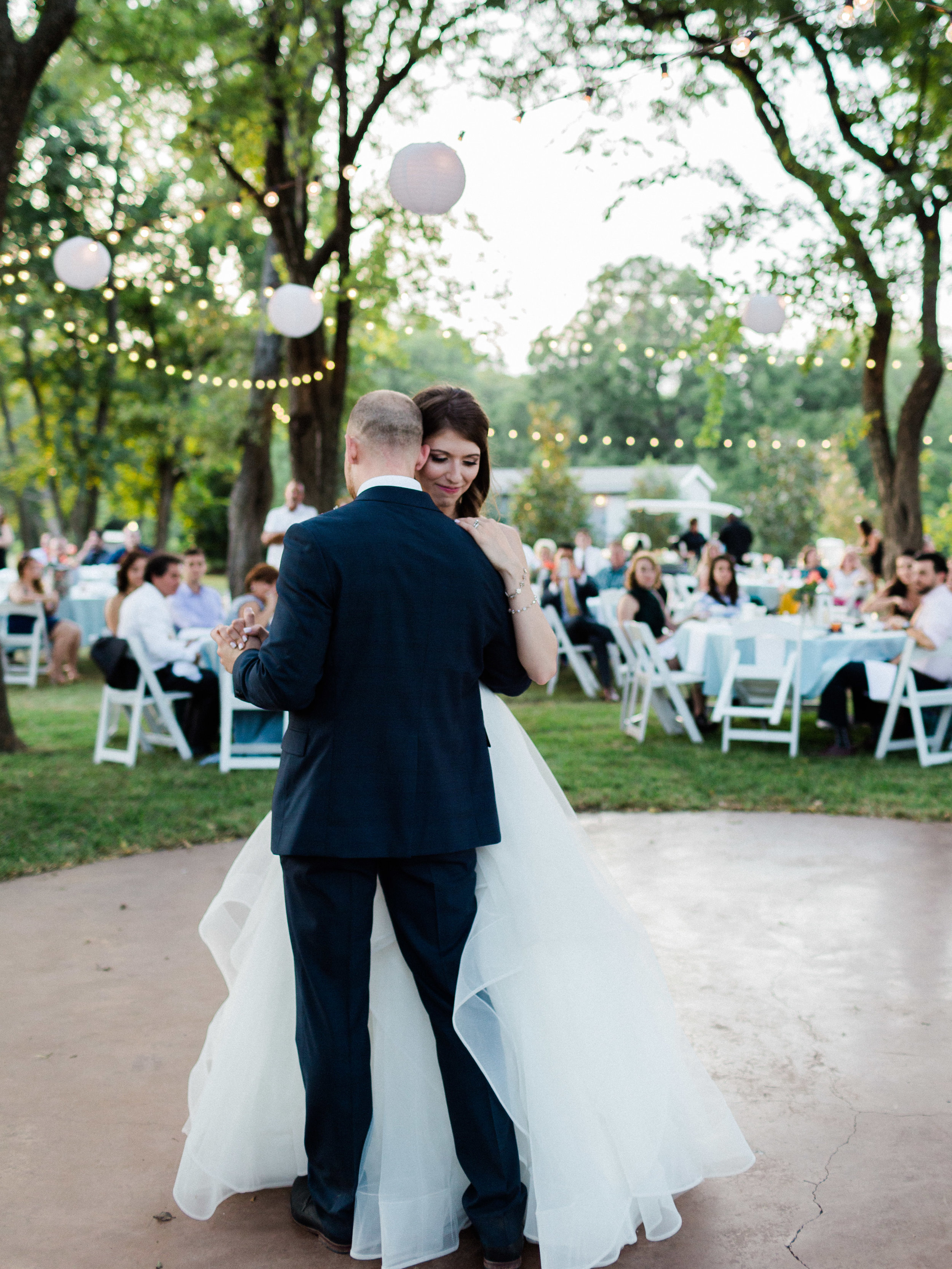 First dance at Chandlers gardens