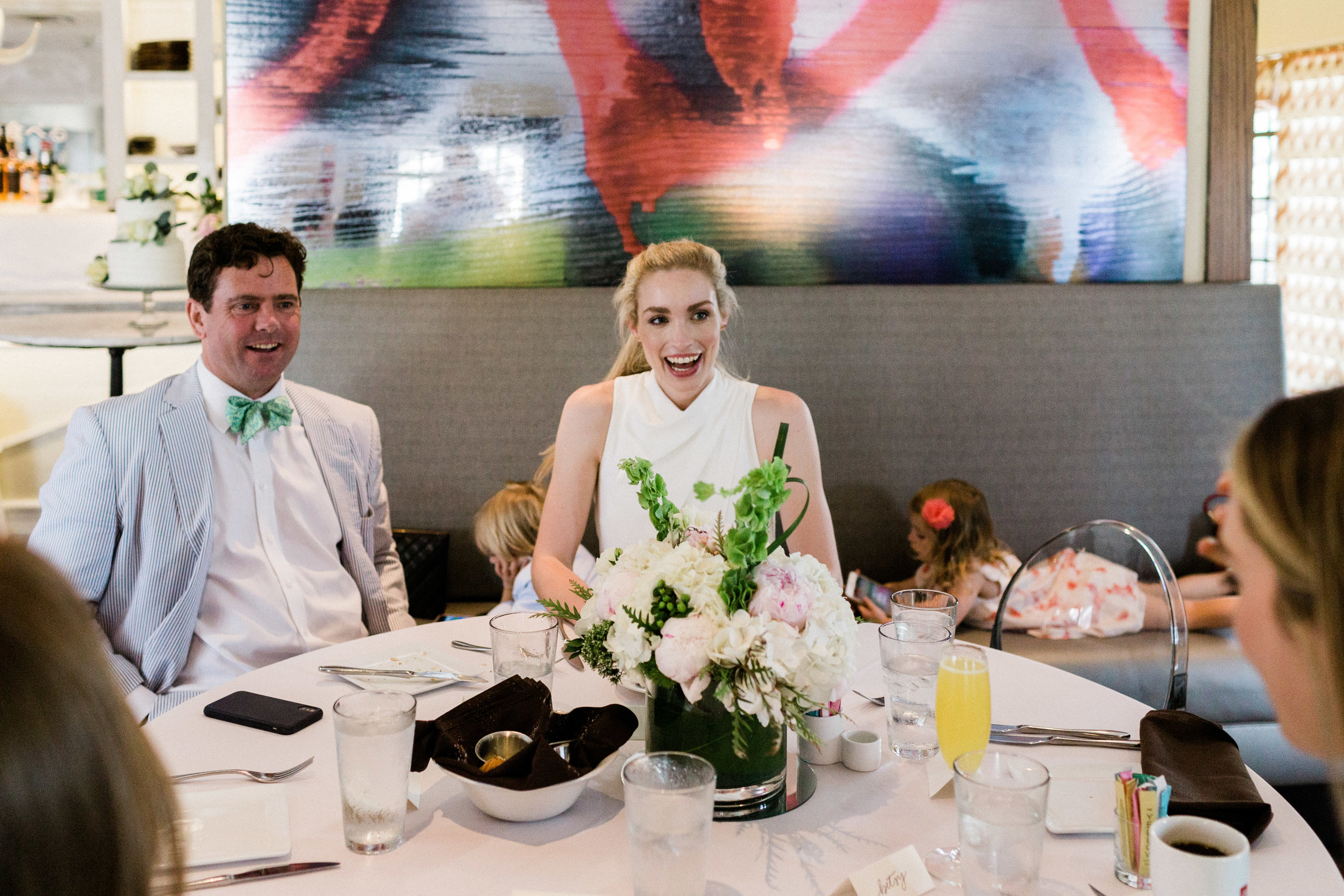 Intimate small wedding at Bistro 31