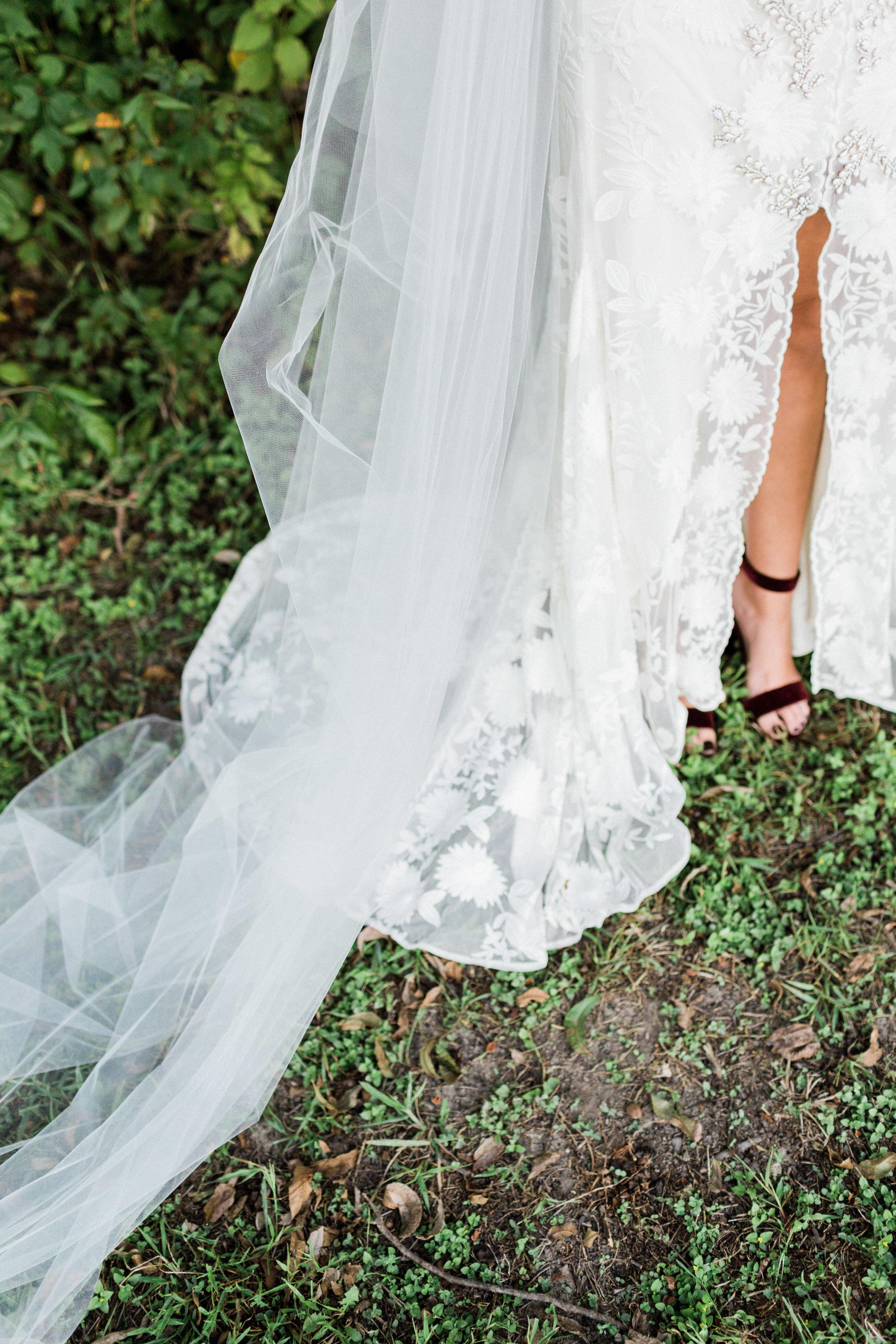 Fall Bridal Portraits in Dallas, Texas