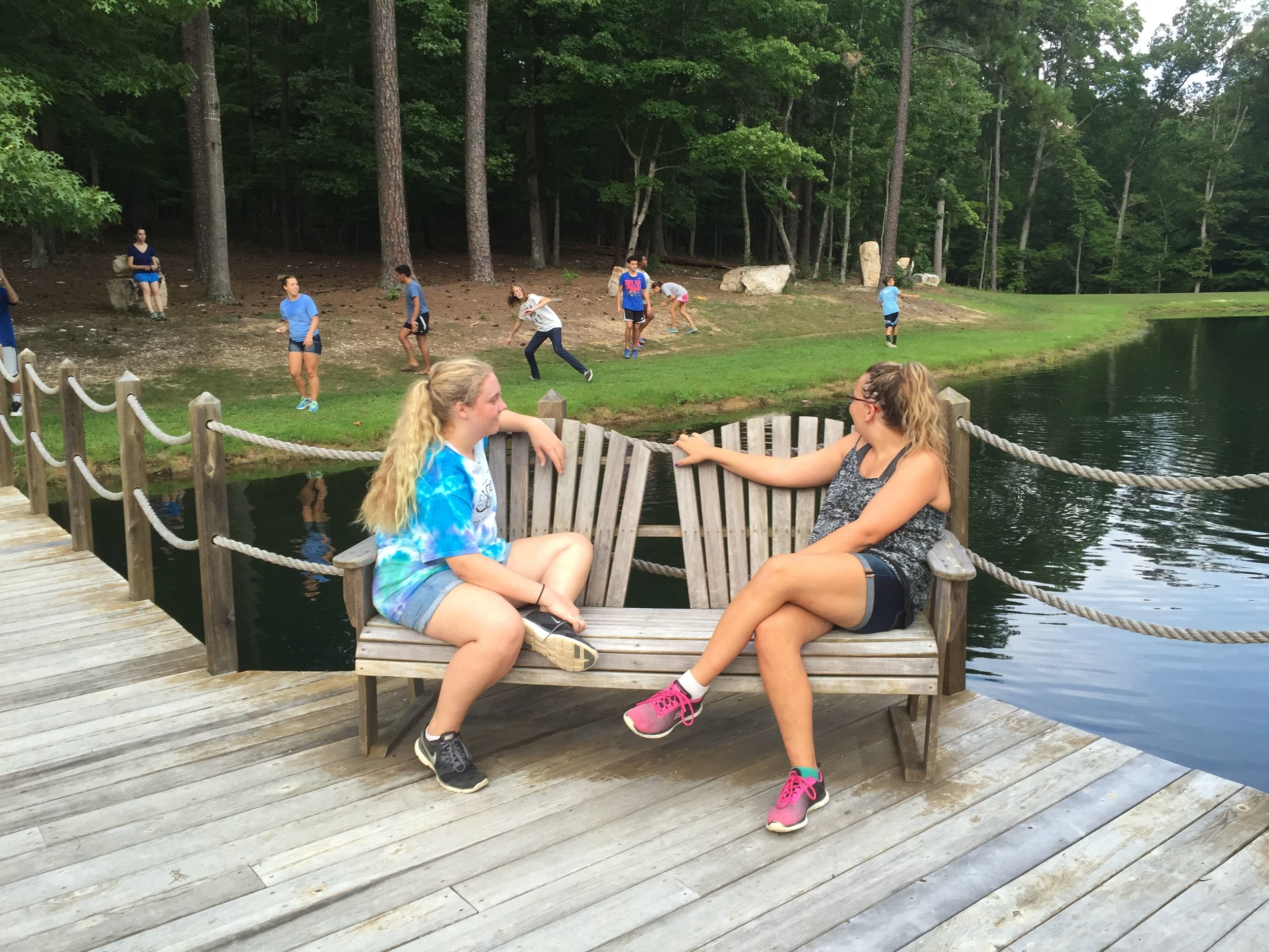 Immersion Island campers develop strong social, leadership and problem-solving skills while at camp.