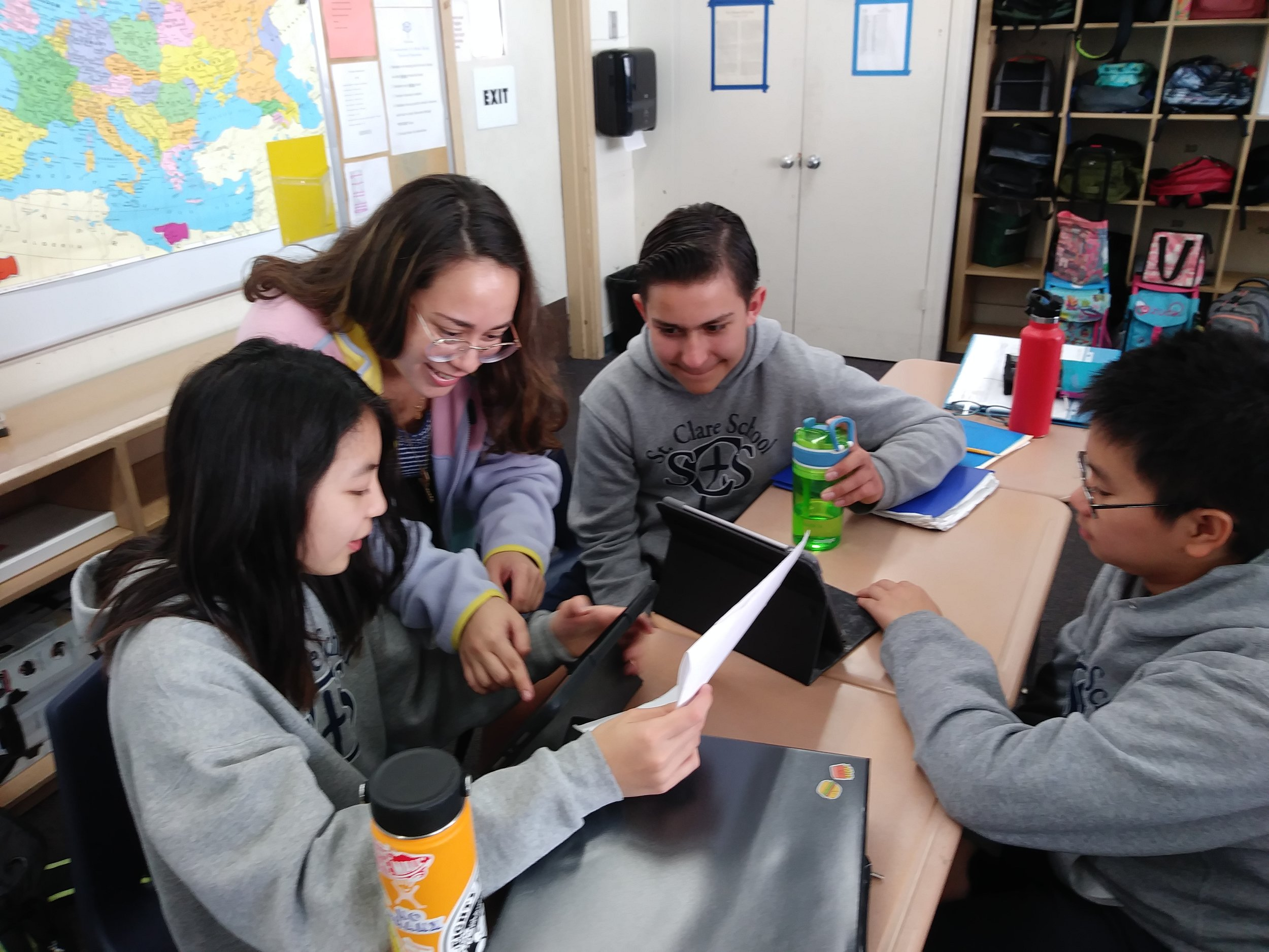 St Clare School - Blended Learning