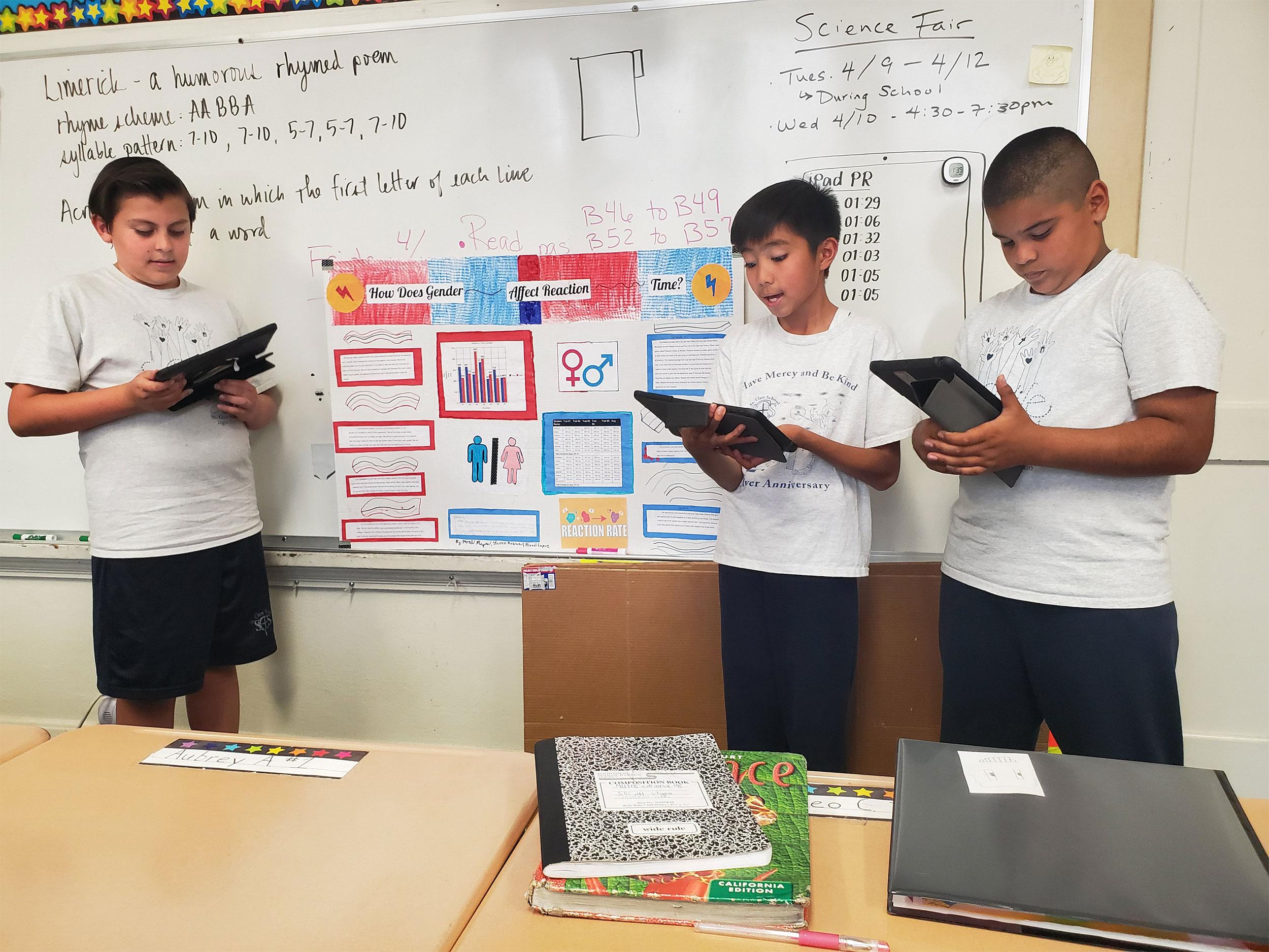 St Clare School - Assessment Data