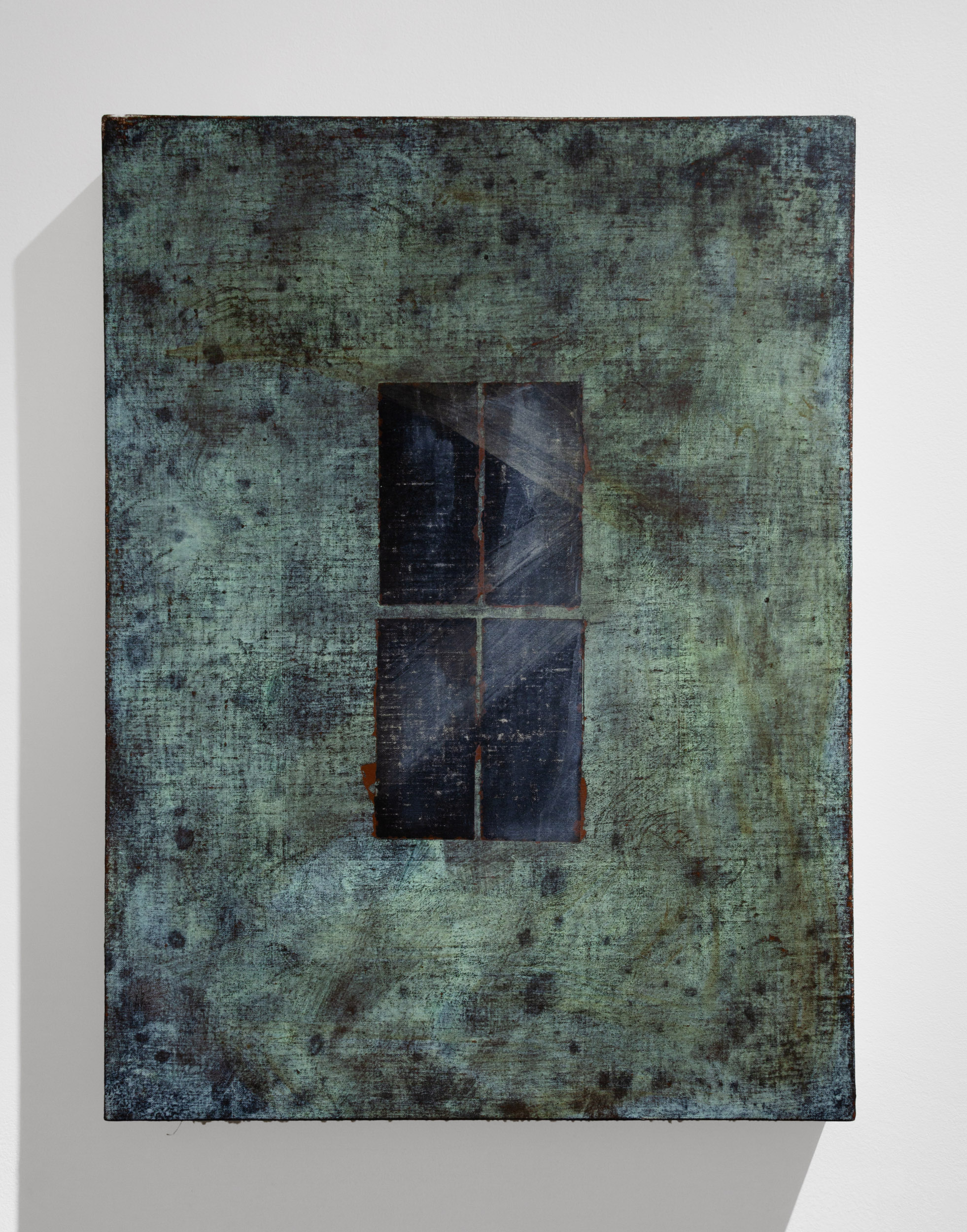 "Patina Window, 22"" x 16.5"""