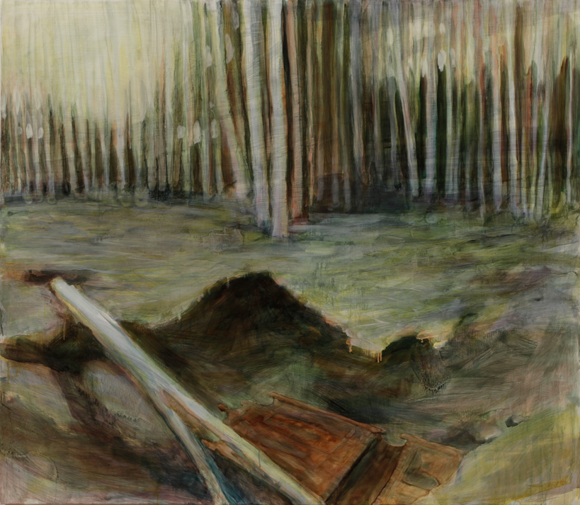 """Russian Forest, 42"""" x 48"""""""