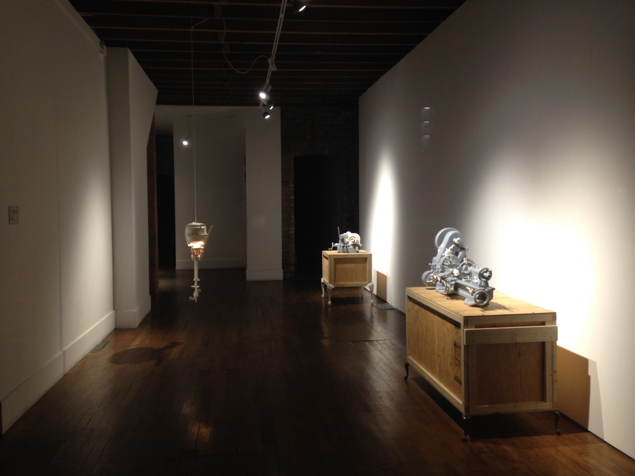 Clint Neufeld,  Pipe Dreams of Madam Recamier , General Hardware Contemporary, organized by the Koffler Center for the Arts, 2013, Toronto, ON