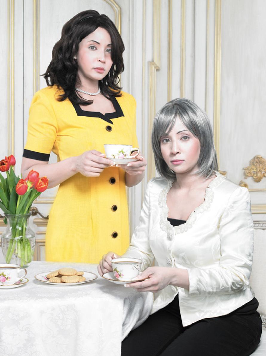 "Fiona, 27 & Maggie 50, 24"" x 30"""