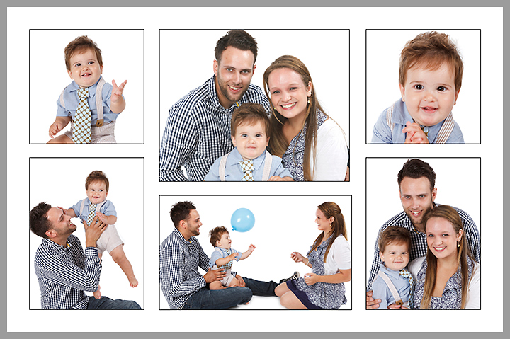P6L  Your six favourite images designed on one 610x406mm (24×16 inch) print with thin black borders around each photograph. Print only £59.00