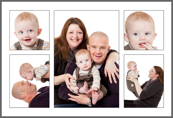 P5L  Your five favourite images designed on one 610x406mm (24×16 inch) print with thin black borders around each photograph. Print only £59.00.