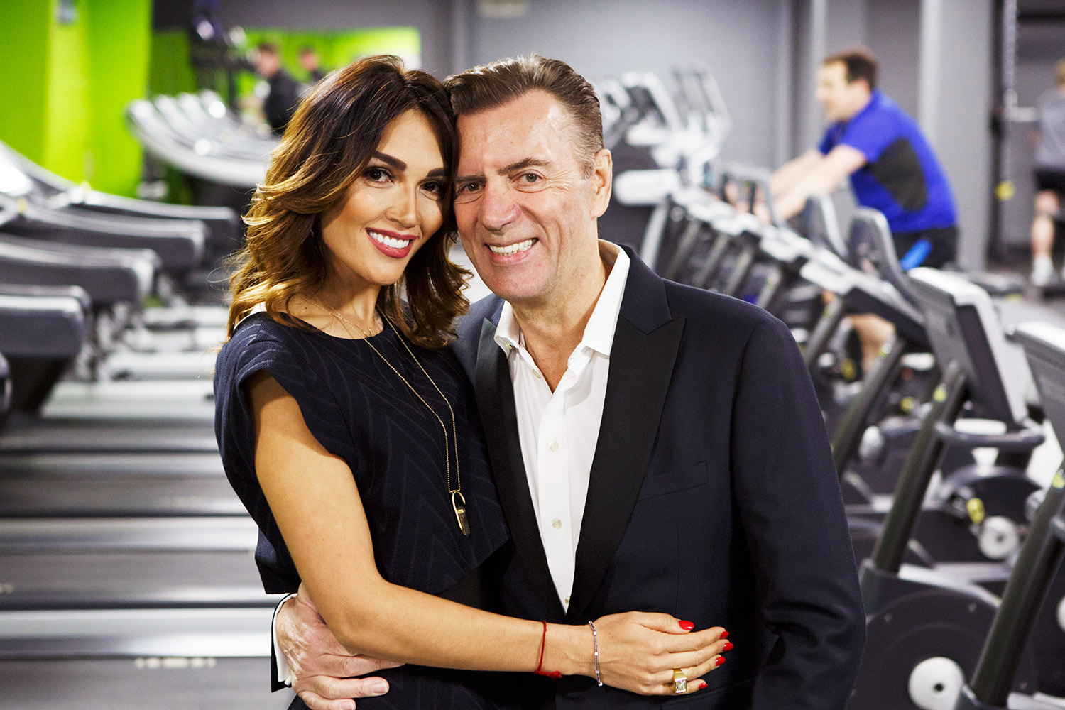 Duncan Bannatyne and his wife Nagora at the opening event of Bannattne Spa, Bury St Edmunds.