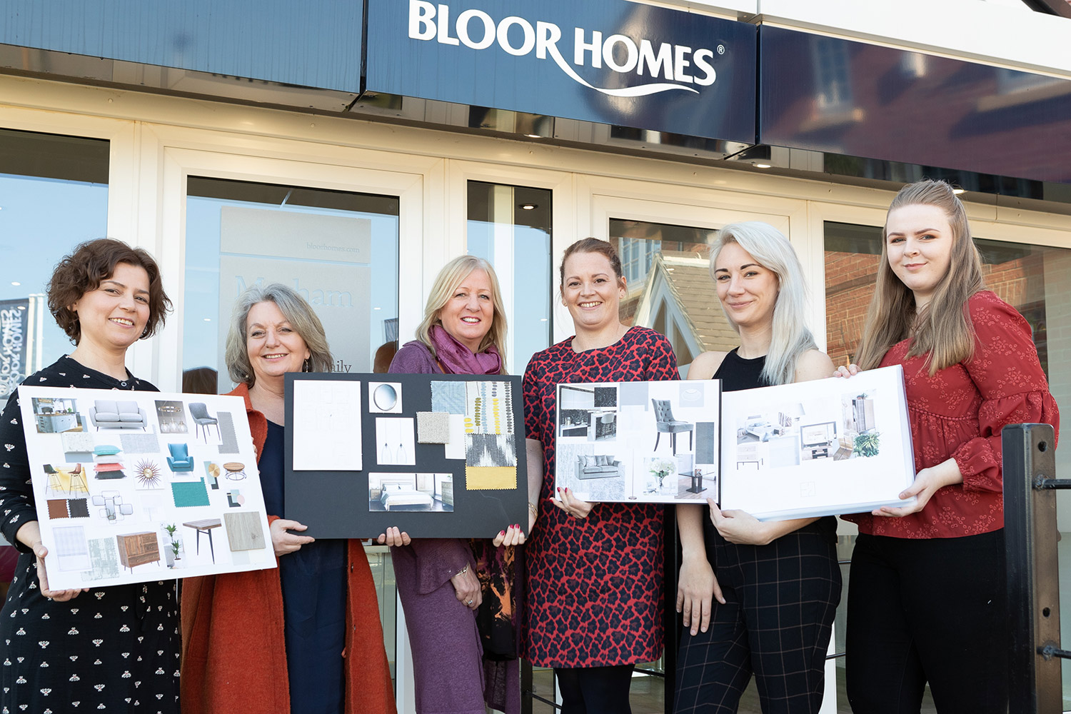 West Suffolk College students design rooms for Bloor  Homes at their Bury St Edmunds housing development.