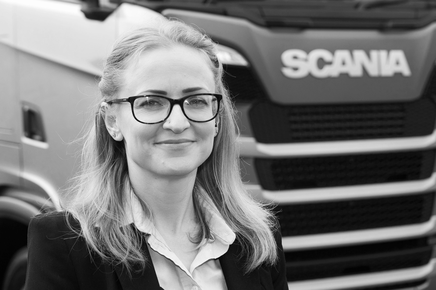 Headshot photography for Scania dealer by  Thetford PR photographer Keith Mindham