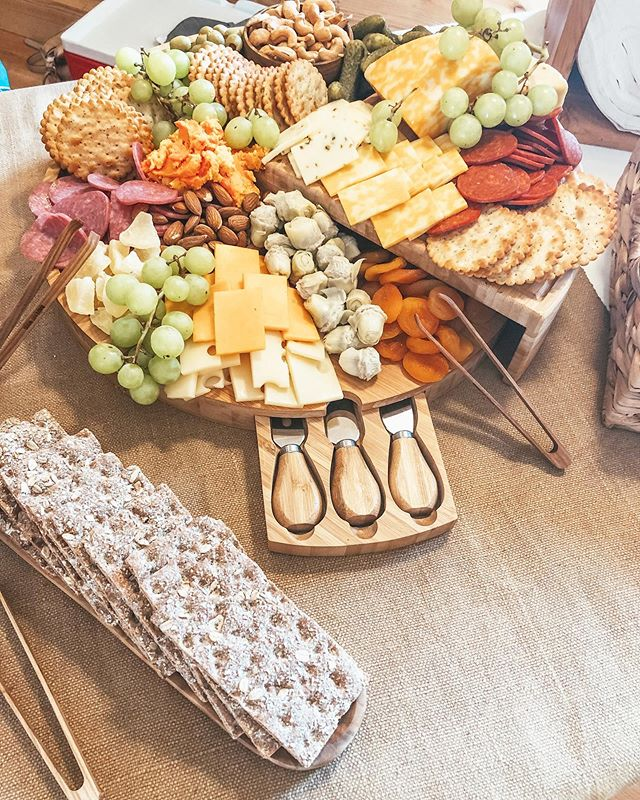 Sweet dreams are made of cheese...but really this charcuterie board is a dream.